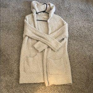 LoveStitch Hooded Cardigan